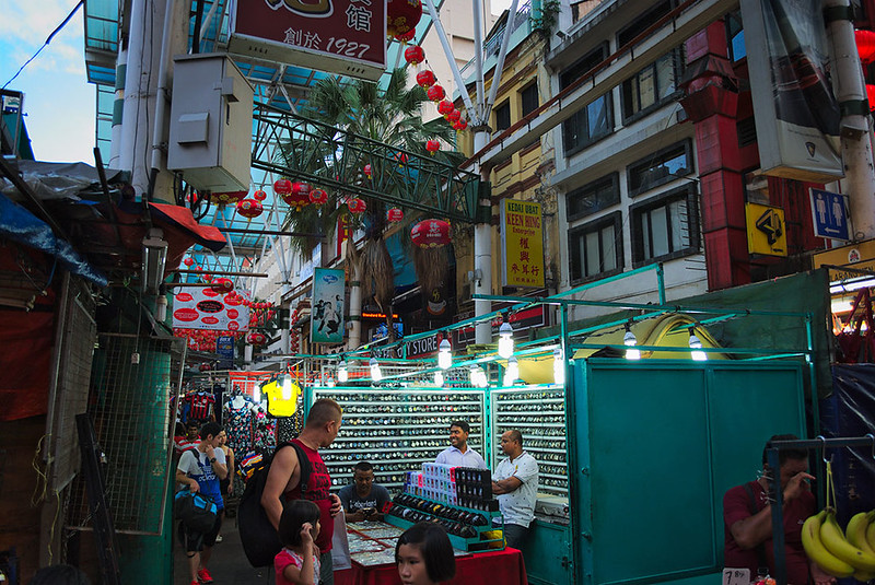 Night market on Jalan Petaling - photo by Marcin Pieluzek under CC BY 2.0