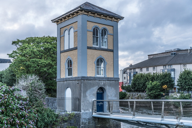 historical sites in Galway - The Fisheries Watchtower Museum - photo by William Murphy under CC BY-SA 2.0