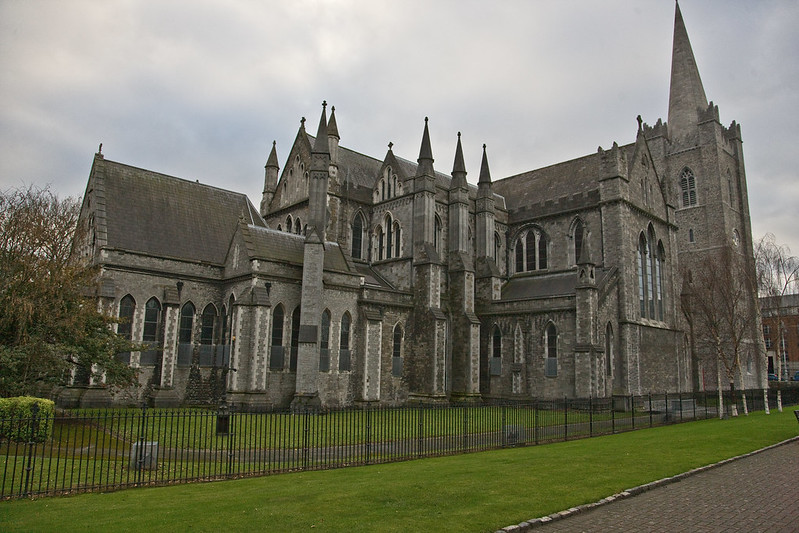 Saint Patrick's Cathedral in Dublin - photo by William Murphy under CC BY-SA 2.0