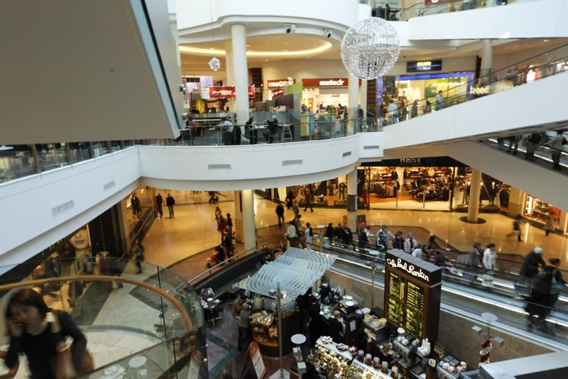 Inside Dundrum Town Centre - photo by William Murphy under CC BY-SA 2.0
