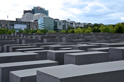 Holocaust Memorial in Berlin, Germany - photo by Woody Hibbard under CC BY 2.0
