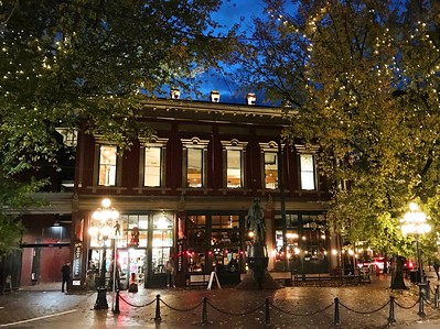 Gastown, Vancouver, Canada - photo by Mark Pegrum under CC BY-SA 2.0