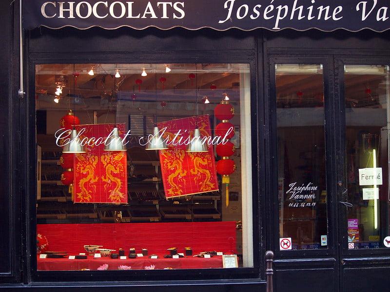 best shopping in Paris - Artisanal Chocolatier Joséphine Vannier - photo by Rui Ornelas under CC BY 2.0