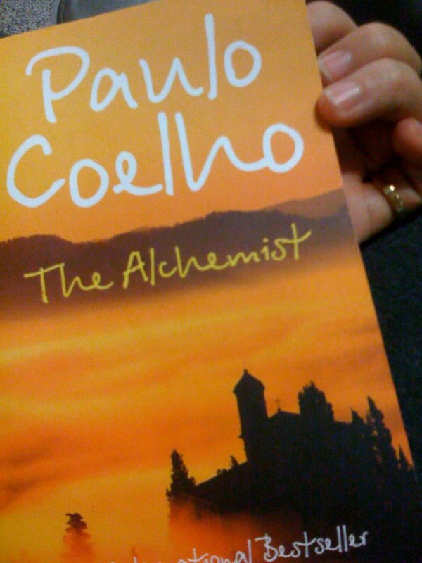 The Alchemist by Paulo Coelho - photo by SoniaT 360. under CC BY 2.0