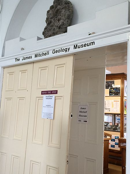 The entrance to the James Mitchel Museum at NUI Galway - photo by Sharonlflynn under CC-BY-SA-4.0