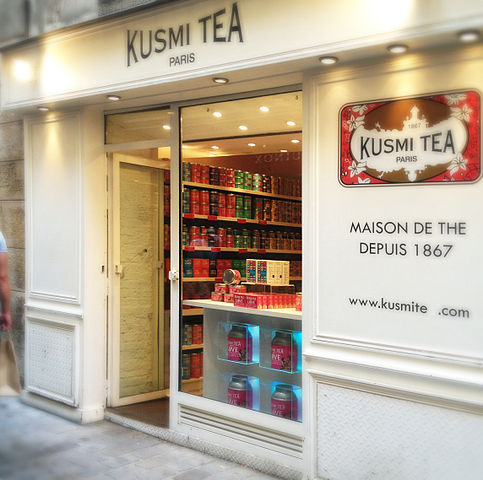 Kusmi Tea - photo by happy_serendipity from Frankfurt, Deutschland under CC-BY-SA-2.0