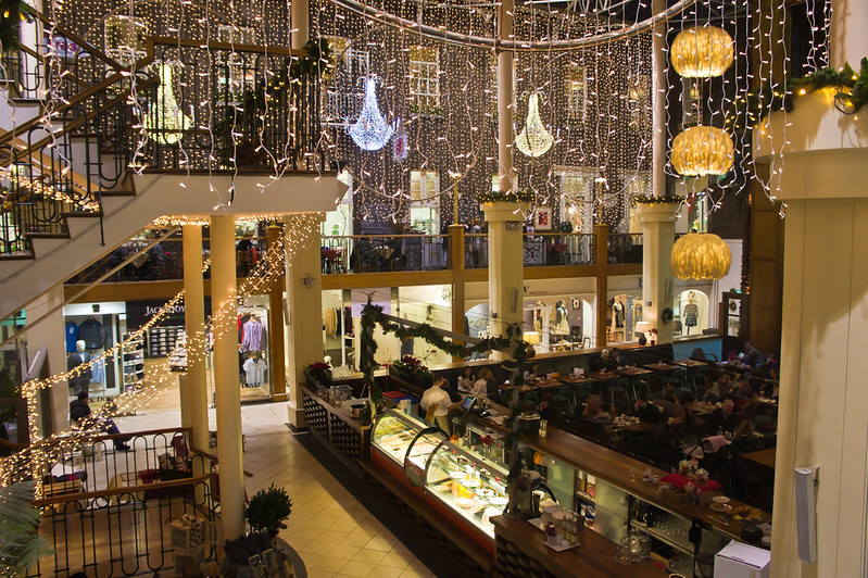 best shopping in Dublin - Powerscourt Townhouse Shopping Centre - photo by William Murphy under CC BY-SA 2.0