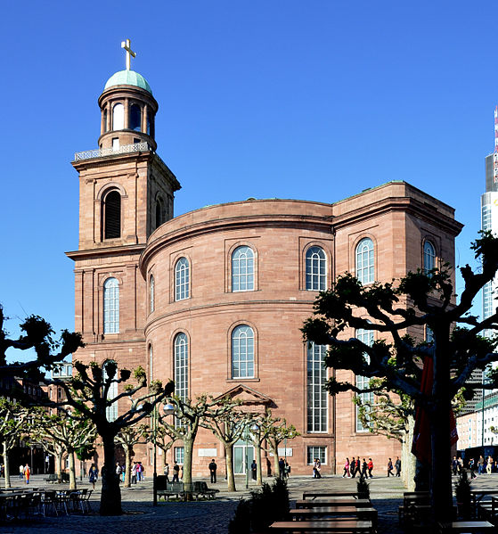 free things to do in Frankfurt - Paulskirche in Frankfurt - photo by Andreas Praefcke under CC-BY-3.0