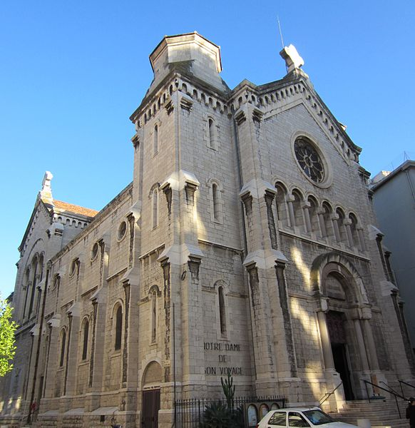 Église Notre Dame de Bon Voyage in Cannes - photo by 	Aimelaime under PD-self and PD-user