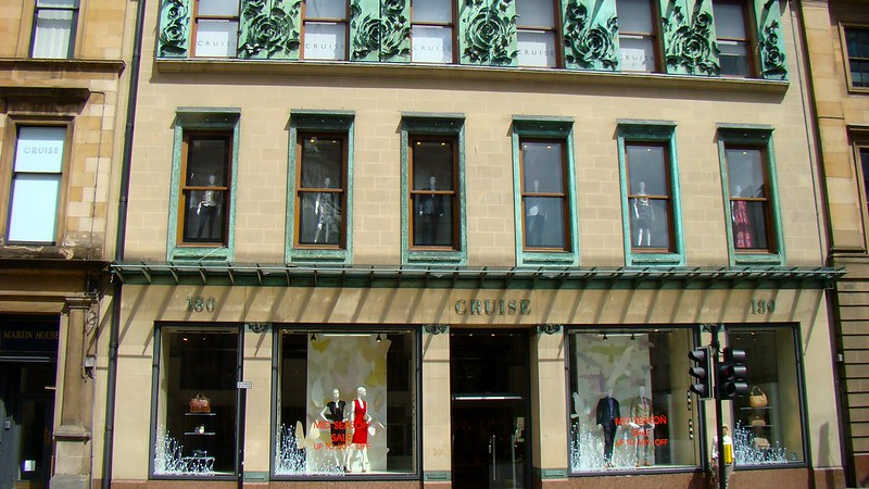 Cruise clothing shop on Ingram Street - photo by Dr Bob Hall under CC BY-SA 2.0