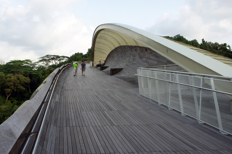 Henderson Waves (part of the Southern Ridges) connects Mount Faber Park to Telok Blangah Hill Park - photo by alantankenghoe under CC BY 2.0