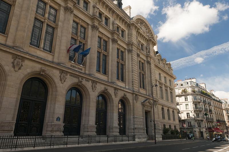 La Sorbonne - University of Paris - photo by Anna & Michal under CC BY-SA 2.0