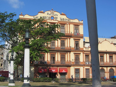 Partagás tobacco factory - photo by Stephen Colebourne under CC BY 2.0
