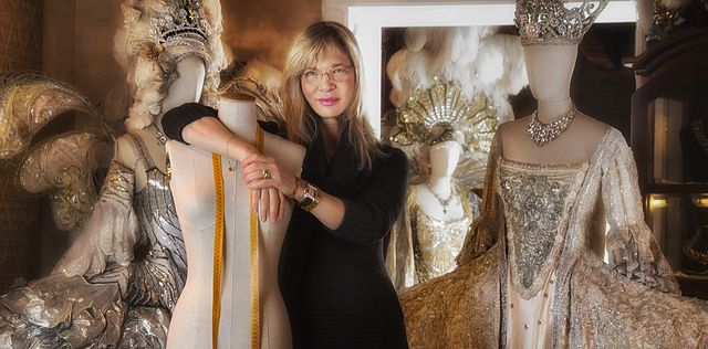 Antonia's haute-couture Atelier in Venice - photo by Antonia Sautter under CC-BY-SA-4.0