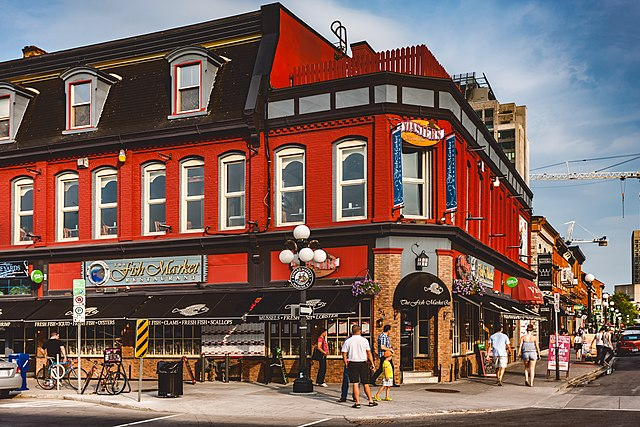 ByWard Market - photo by Michel Rathwell from Cornwall, Canada under CC-BY-2.0