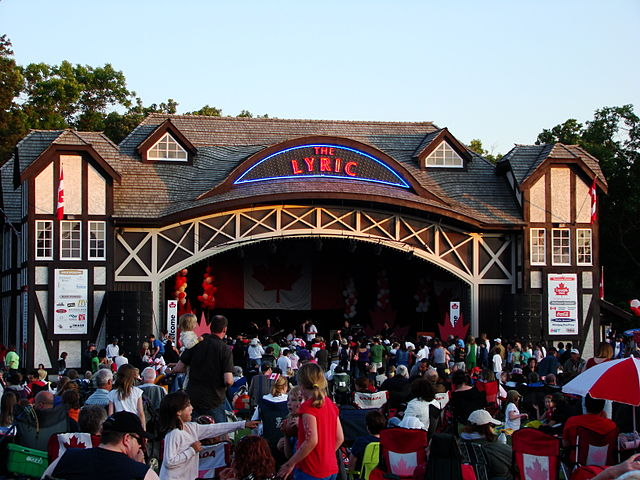 The Lyric Theatre at at Assiniboine Park in Winnipeg, Manitoba, Canada - photo by Shahnoor Habib Munmun under CC-BY-3.0