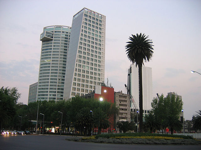 best shopping in Mexico City - the Reforma 222 Complex - photo by CliNKer * under CC BY-SA 2.0