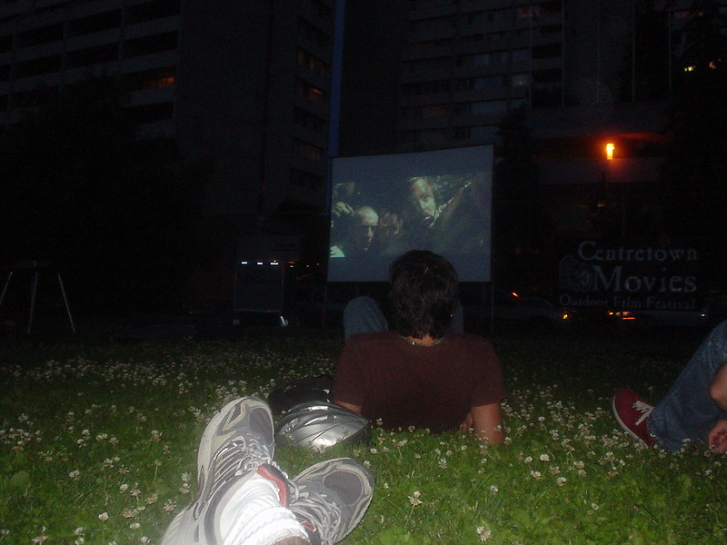 Centretown Movies at Dundonald Park - photo by stephen boisvert under CC BY 2.0