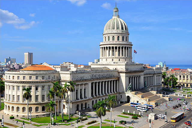 The Cuba State Capitol (El Capitolio) in Havana - photo by Nigel Pacquette under CC-BY-SA-3.0