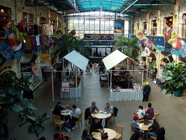 inside The Forks Market - photo by Ccyyrree under CC-Zero