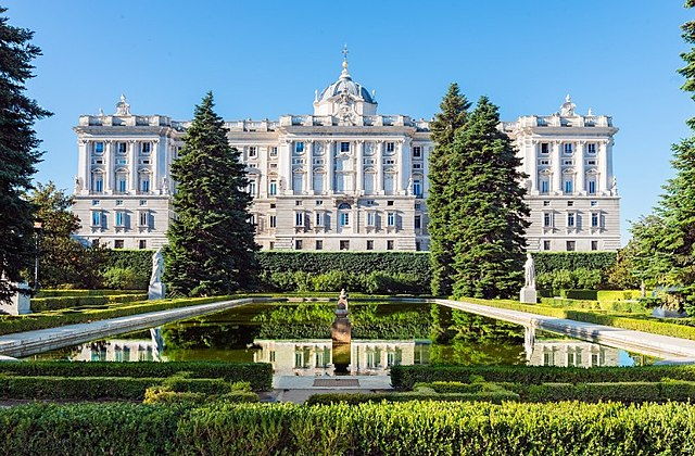The Royal Palace of Madrid - photo by RoberRM under CC BY-SA 4.0