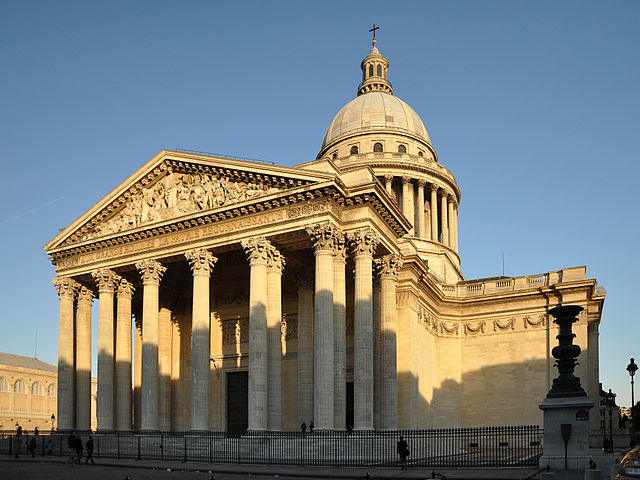 Panthéon de Paris - photo by Moonik under CC-BY-SA-3.0