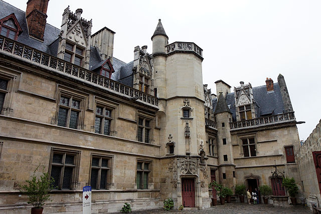 Musée national du Moyen Âge – Thermes et hôtel de Cluny - photo by Thesupermat under CC BY-SA 3.0
