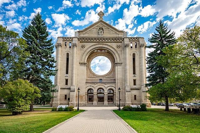 Saint Boniface Cathedral, Winnipeg, Canada - photo by Jessica Losorata under CC-BY-SA-4.0