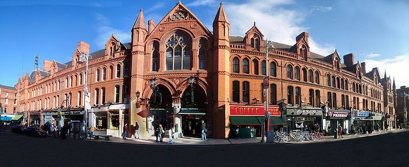 best shopping in Dublin - George's Street Arcade opened in 1881 - photo by Doyler79 under CC-BY-SA-3.0 and GFDL