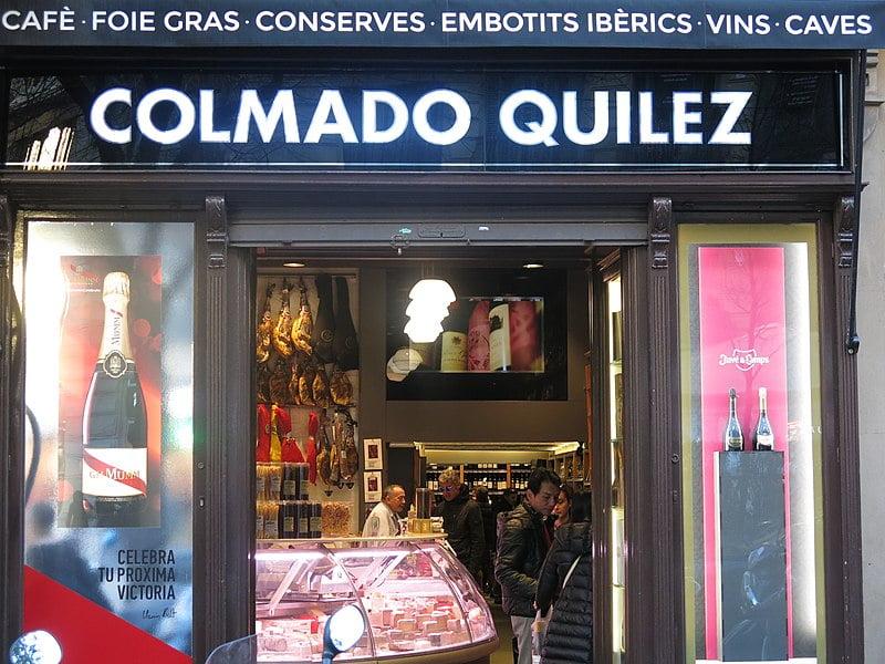 Colmado Quílez on Rambla de Catalunya - photo by Enric under CC-BY-SA-4.0