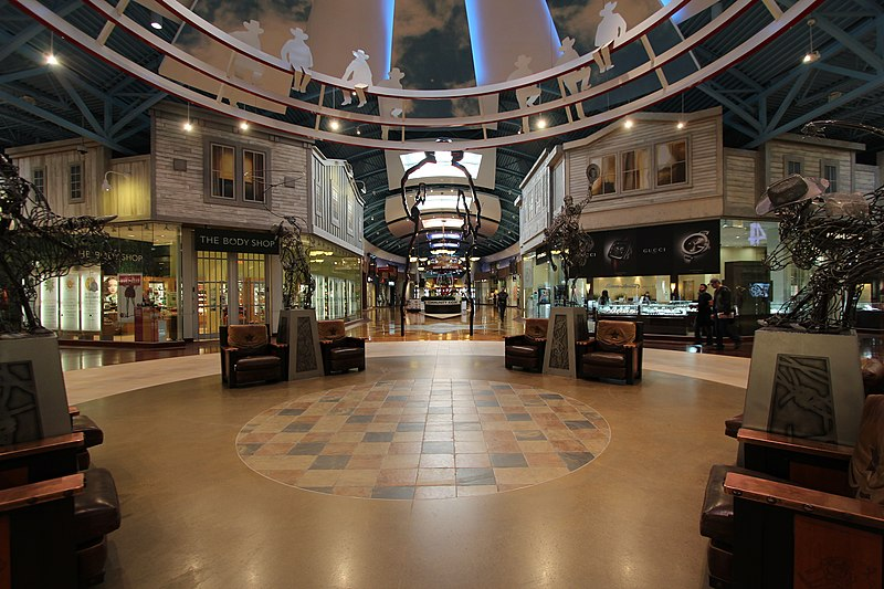 best shopping in Calgary - Inside CrossIron Mills - photo by Thank you for visiting my page from Canada under CC-BY-2.0