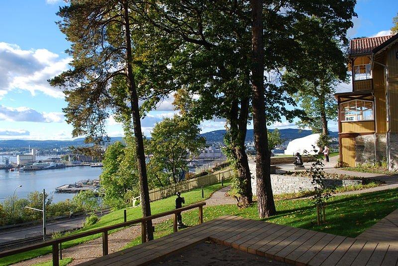 Ekebergparken - photo by Helge Høifødt under CC-BY-SA-3.0