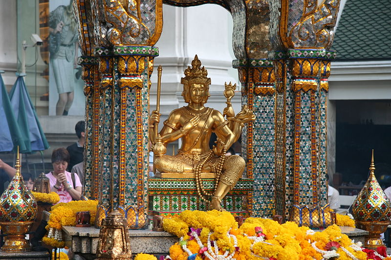 free things to do in Bangkok - Erawan Shrine in Bangkok - photo by J Aaron Farr under CC-BY-2.0
