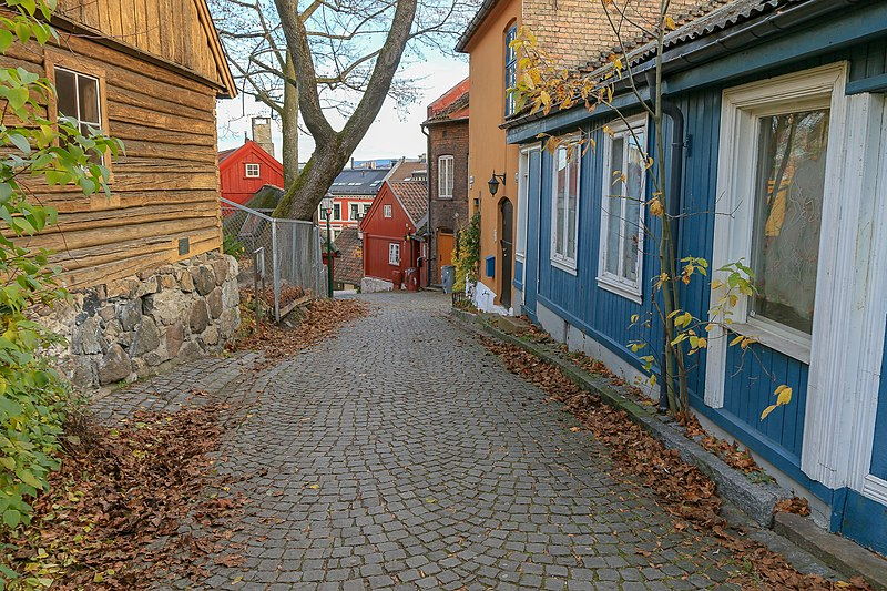 free things to do in Oslo - Damstredet in Oslo, Norway - photo by Øyvind Holmstad under CC-BY-SA-4.0