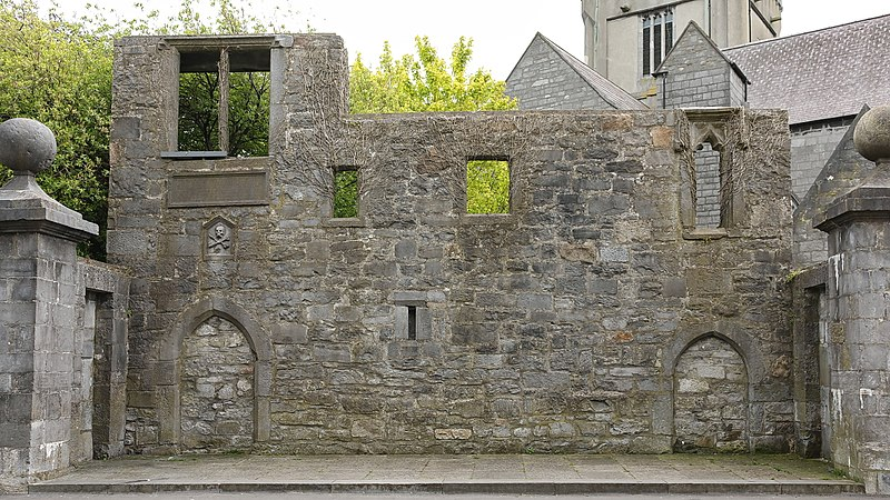 historical sites in Galway - Lynch Memorial Window - photo by Bob Linsdell under CC-BY-3.0
