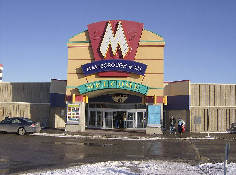 best shopping in Calgary - Marlborough Mall in Calgary, Alberta, Canada - photo by User:Thivierr under CC-BY-SA-3.0-migrated and GFDL