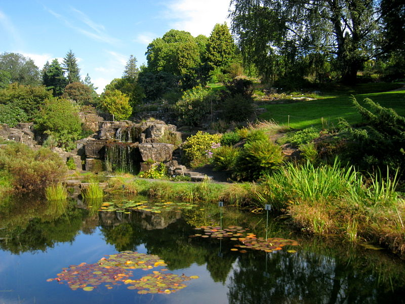 The Botanical Garden - photo by Daderot under PD-self