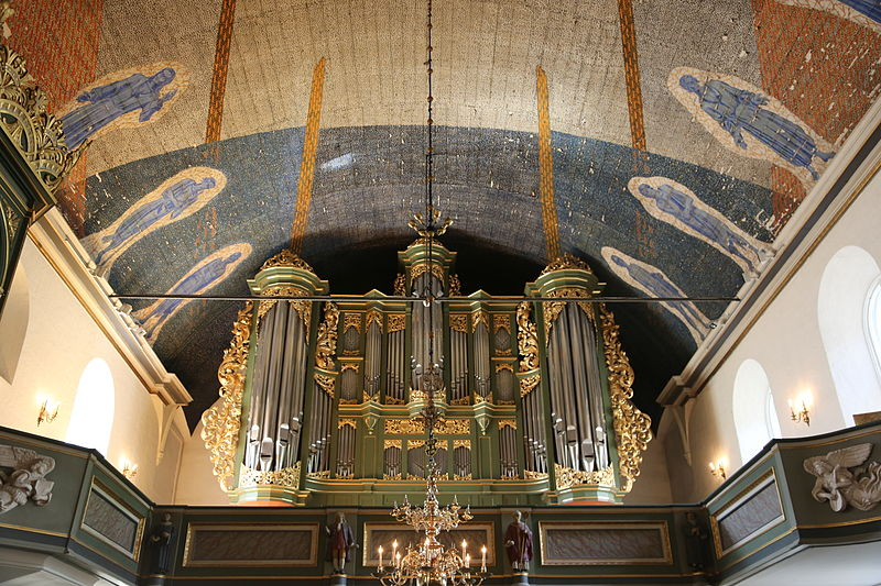 free things to do in Oslo - The organ at Oslo Domkirke - photo by Hans A. Rosbach under CC-BY-SA-3.0