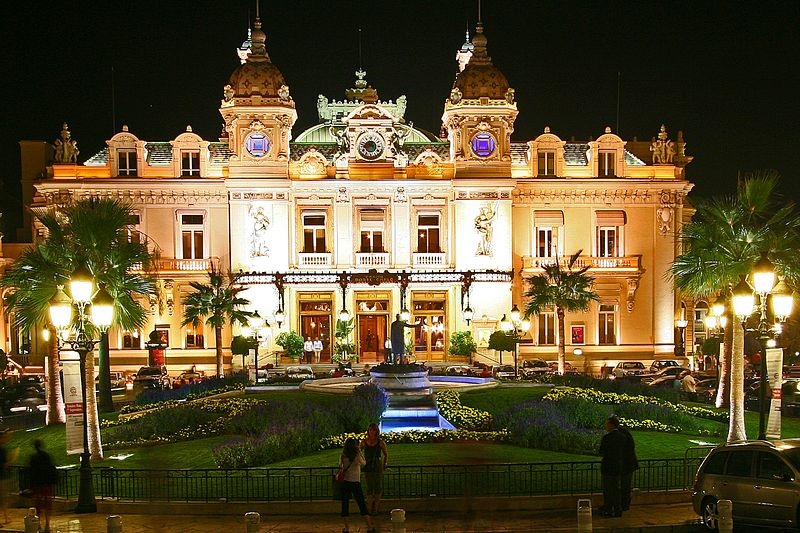 Casino de Monte-Carlo - photo by sam garza from Los Angeles, USA under CC-BY-2.0