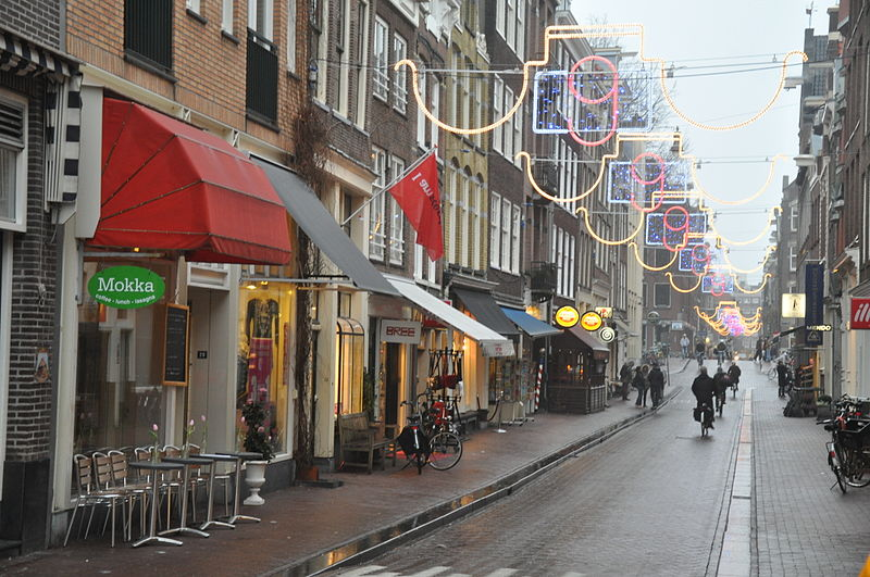 Berenstraat, one of the 9 Little Streets - photo by Jorge Láscar from Australia under CC-BY-2.0