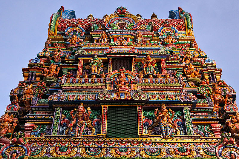 free things to do in Bangkok - Sri Maha Mariamman Temple in Bangkok - photo by m-louis .® from Osaka, Japan under CC-BY-SA-2.0