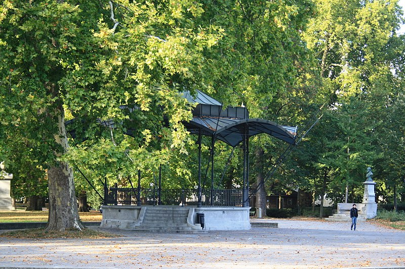 free things to do in Zurich - Platzspitz Park in Zürich - photo by Roland zh under CC-BY-SA-3.0