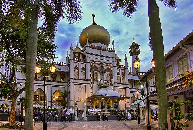 Masjid Sultan - photo by Erwin Soo under CC BY 2.0