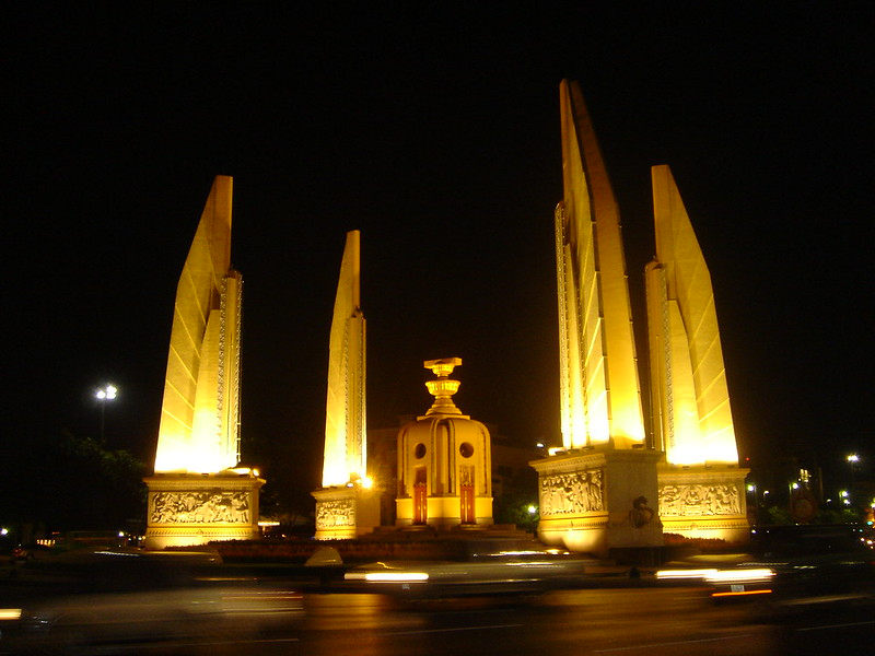 free things to do in Bangkok - Democracy Monument in Bangkok - photo by MsAnthea under CC BY-ND 2.0