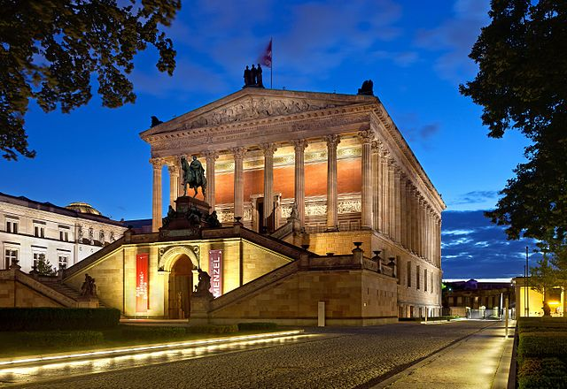 Alte Nationalgalerie - photo by Thomas Wolf, www.foto-tw.de under CC BY-SA 3.0