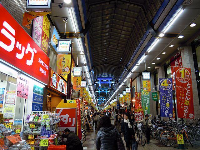 Tenjinbashi-suji - photo by DVMG under CC-BY-3.0