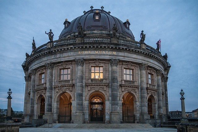 Bode Museum - photo by Photomat  under Pixabay License