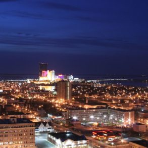 Atlantic City, New Jersey at night - photo by Ron Miguel under CC-BY-2.0