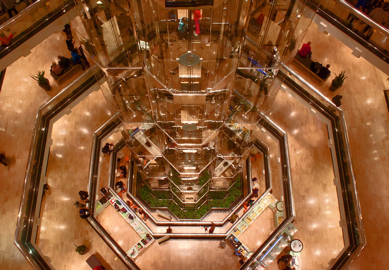 Water Tower Place shopping mall - photo by gabe popa under CC BY 2.0