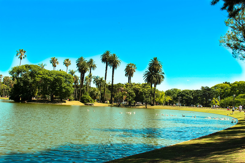 free things to do in Buenos Aires - One of the lakes at Bosques De Palermo - photo by kabeto jamaica under CC BY 2.0
